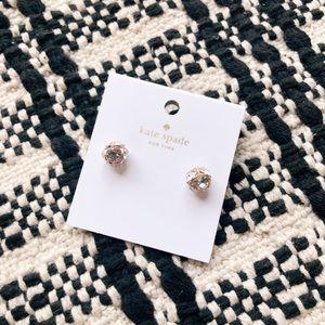 NWT Kate Spade Lady Marmalade Crystal Earrings